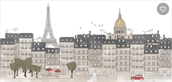 Paris city color Image