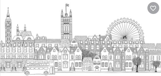 London b/n Image