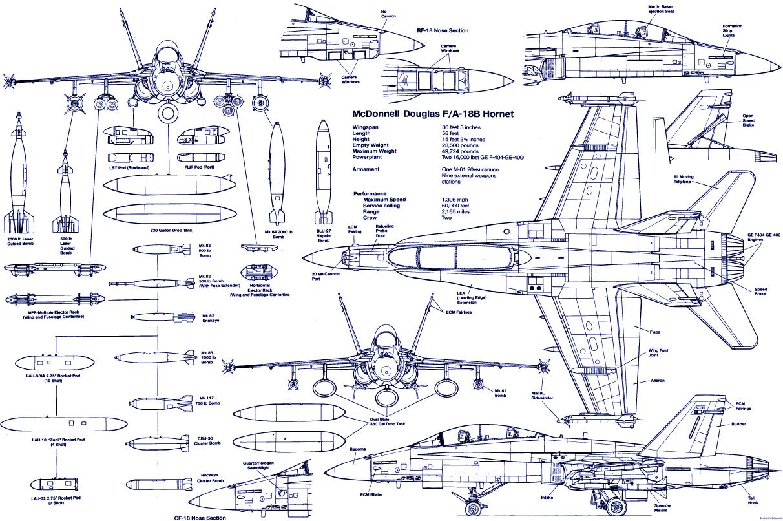 Plane Blueprint Image